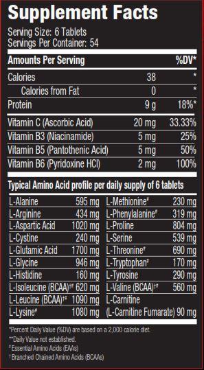Super Amino 10000 Biobolics Nutrition